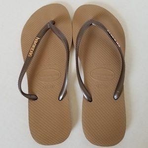 Havaianas Flip Flops, like new
